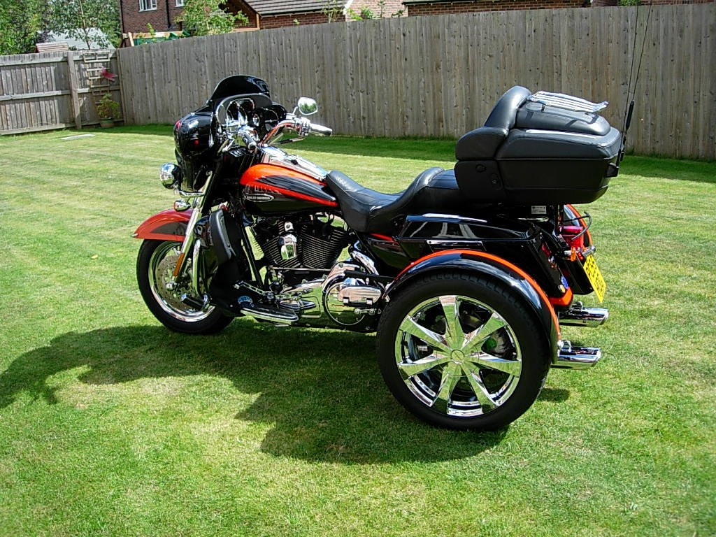custom built uk trikes for sale hanks chopshop. Black Bedroom Furniture Sets. Home Design Ideas