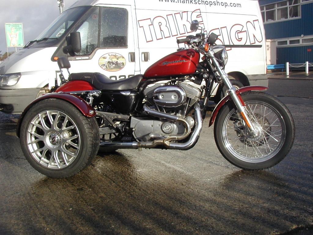 Custom Built Uk Trikes For Sale Hanks Chopshop