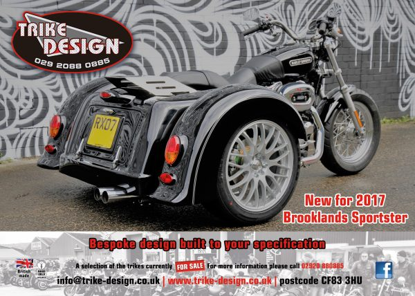 brooklands sportster trike new for 2017