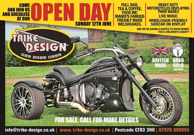 Trike Design open day 2016