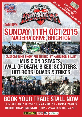 Brightona Festival - Trikes - Hot Rods - Trike Design will be at this event