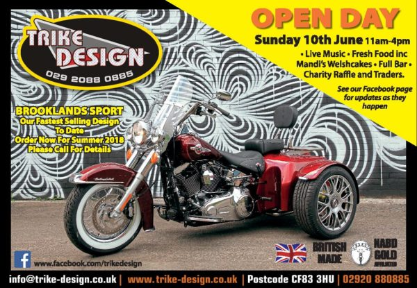 TRIKE DESIGN Open Day June 2018 - a Great Day out in the sun - thank you