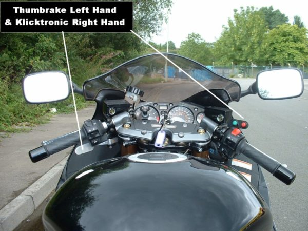 trike wheel chair hand controls