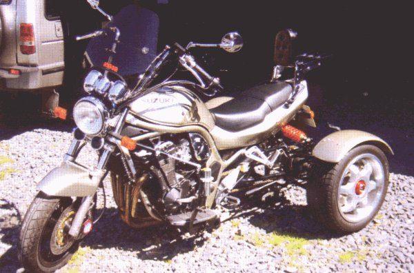 reverse gear trike