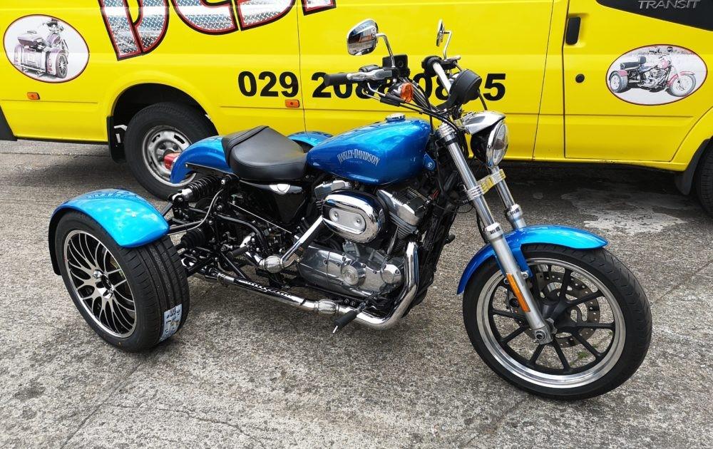 Custom built UK Trikes for sale - Hanks chopshop