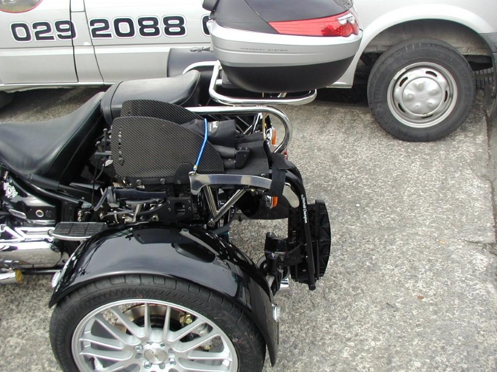Description: Wheel Chair Rack
