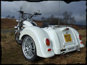 Harley trikes for sale uk brooklands side view