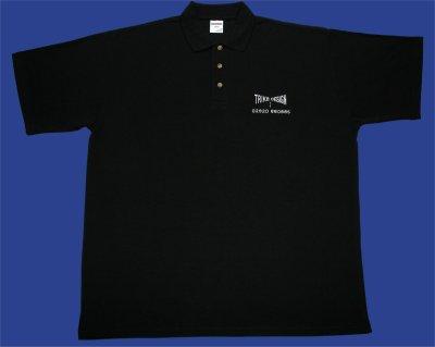 Description: T-Shirt Polo Neck Black